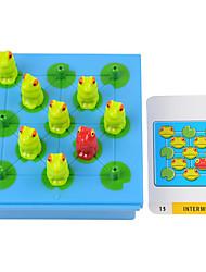 Недорогие -Настольная игра Обучающая игрушка Хобби и досуг Лягушка Пластик Королевский синий Коричневый