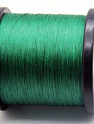 cheap -1000M / 1100 Yards PE Braided Line / Dyneema / Superline Fishing Line Dark Green 80LB / 60LB / 100LB / 70LB 0.37mm,0.40mm,0.45mm,050mm mm