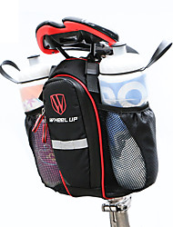 preiswerte -Wheel up Fahrradtasche 5LFahrrad-Sattel-Beutel Wasserdicht Rasche Trocknung Regendicht Wasserdichter Reißverschluß Staubdicht