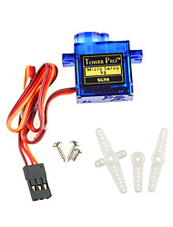 economico -mini micro 9g smart electronics rc servo sg90 per rc 450 helicopter airplane car boat