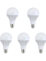 COSMOSLIGHT 330-360 lm E26/E27 LED-globepærer A60(A19) 15 leds SMD 5630 Dekorativ Varm hvid Naturlig hvid AC 220-240V