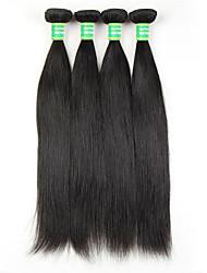 8a cabello virginal brasileño recto 3 paquetes pelo virginal recto brasileño pelo humano brasileño no procesado armadura barata del pelo