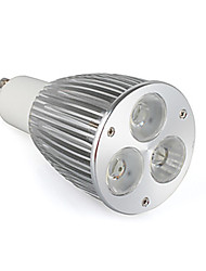 cheap -800-900 lm GU10 LED Spotlight MR16 3 leds High Power LED Warm White AC 85-265V