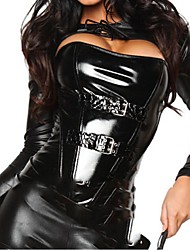 Sexy Catwoman Black PU Leather Women's Costumefor Carnival