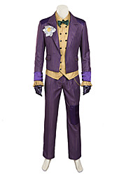 cheap -Cosplay Costumes /   Agam asylum Clown Costume cosplay/Halloween Costumes Custom Made