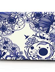 abordables -macbook estuches para macbook flower material polycarbonate mac& bolsas de mac& mangas mac