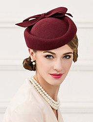 cheap -Wool Hats Headpiece Wedding Party Elegant Feminine Style  Hats