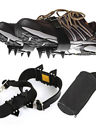 Outdoor Crampons/Four Tooth Anti Slip Shoes Cover/Mountain Chain/Simple Crampons