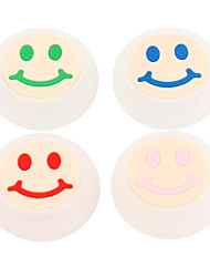 preiswerte -10pcs / lot Lächeln Gesicht Silikonkappe Joystick-Griff für PS4 PS3 Xbox 360 Xbox einen Controller