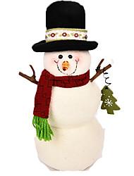 Décorations de Noël Cadeaux de noël Jouets Bonhomme de neige Articles d'ameublement Garçon Fille Pièces