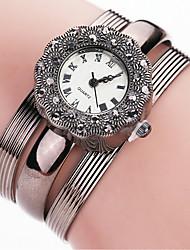 Xu™ Dámské Módní hodinky Náramkové hodinky Křemenný PU Kapela Retro Běžné nošení Hnědá Kávová