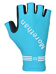 cheap -FJQXZ Sports Gloves Wearable Breathable Reduces Chafing Fingerless Gloves Spandex Synthetic Textile Fibres Cycling / Bike Downhill Men's