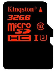 Kingston 32GB TF Micro SD Card scheda di memoria UHS-I U3 Class10