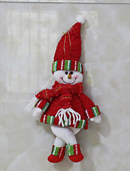Holiday Decorations Christmas Toys Christmas Trees Gift Bags Toys Santa Suits Snowman Textile 2 Pieces Christmas Gift