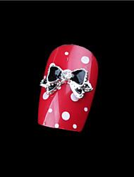 billige -5 pcs Negle Smykker Negle kunst Manicure Pedicure Daglig Metallic / Mode / Negle smykker