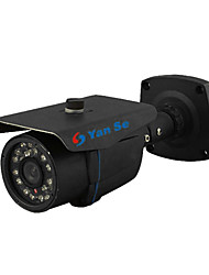 YanSe® 1000TVL 3.6mm Metal aluminum D/N CCTV Camera IR 24 LED Security Waterproof Wired 867CF