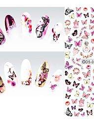 1pcs Nail Art Sticker Vand Transfer Decals Makeup Cosmetic Nail Art Design