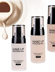 cheap -LaiKou Pro Whitening Moisturizer Concealer Contour Waterproof Color Correction Finish Liquid Foundation BB Cream