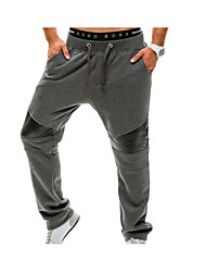 cheap -Men's Active Cotton Loose Active Sweatpants Chinos Pants - Solid, Modern Style