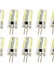 3W G4 Luci da arredo T 64 SMD 3014 250-300 lm Bianco caldo Luce fredda K Oscurabile AC220 V