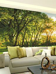 cheap -JAMMORY Wallpaper For Home Wall Covering Canvas Adhesive required Mural Jungle Life XL XXL XXXL