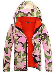Women's Kid's Unisex Hiking Jacket Waterproof Thermal / Warm Quick Dry Windproof Ultraviolet Resistant Insulated Breathable Full Length