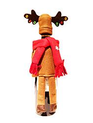 billige -Juledekorationer Julefrokost Forsyninger Elk Tekstil Legetøj Gave 2 pcs