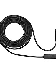 5m usb hd 480p endoscope borescope 10mm lens 4 led ip67 caméra d'inspection étanche