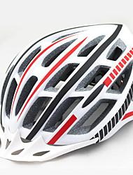 Недорогие -Мотоциклетный шлем CE Велоспорт 20 Вентиляционные клапаны Регулируется Вуаль Горные Город Ультралегкий (UL) Спорт Молодежный Горные