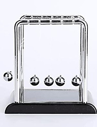 Недорогие -Мячи Маятник Ньютона Классический Металлические Нержавеющая сталь пластик Мальчики Девочки Игрушки Подарок