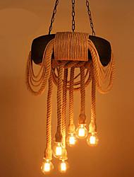 Regional Luzes Pingente Para Sala de Estar Sala de Jantar Entrada Quarto de Jogo Corredor AC 220-240V Lâmpada Incluída