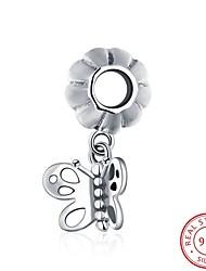 il popolare gioielli moda in argento 925 ciondolo appeso braccialetto europei e americani - gli accessori a forma di farfalla