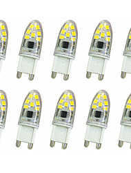 abordables -10pcs 300lm G9 LED à Double Broches T 14LED Perles LED SMD 2835 Décorative Blanc Chaud / Blanc Froid 220V / 220-240V