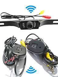 cheap -Parking Assistance System Wireless Car Rear View Camera Auto IR CCD HD RearView Reverse Universal Backup Camera Waterproof Night Vision
