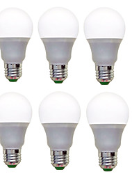 cheap -6pcs 1200lm E26 / E27 LED Globe Bulbs A60(A19) 12 LED Beads SMD 2835 Decorative Warm White Cold White 220-240V