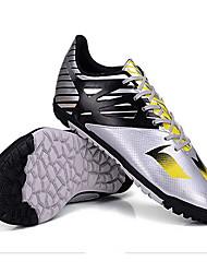 voordelige Teamsporten-Voetbalschoenen TPR Voetbal Anti-slip, Anti-Shake, Ademend PVC Leder Zilver / Geel / Blauw