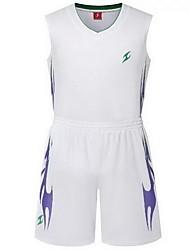 Shirt Hauts/Tops(Jaune Blanc Vert Rouge Noir Bleu Violet) -Basket-ball Course/Running-Manches courtes-Femme Homme