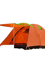 FLYTOP 3-4 persons Tent Double Camping Tent One Room Family Camping Tents Keep Warm Moistureproof/Moisture Permeability Rain-Proof