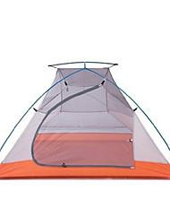 Naturehike 3-4 personnes Tente Double Tente de camping Une pièce Tentes de Randonnée Résistant à l'humidité Portable Etanche Pliable