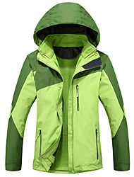 Women's Hiking Jacket Waterproof Thermal / Warm Windproof Fleece Lining Tracksuit Coverall for Skiing Camping / Hiking Leisure Sports