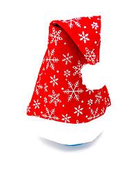 Недорогие -Рождественский декор Товары для Рождественской вечеринки Подарочные мешки Товары для отпуска 3Pcs Рождество Текстиль Серебристый