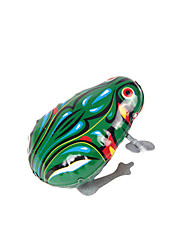Wind-up Toy Toys Frog Iron Metal 1 Pieces Boys' Girls' Christmas Birthday Children's Day Gift