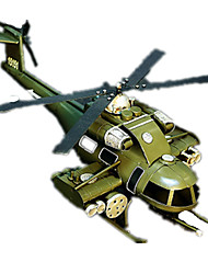 Action Figures & Stuffed Animals Display Model Helicopter Toys Fighter Helicopter Retro Furnishing Articles Boys' Girls' Pieces