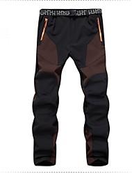 Per uomo Pantaloni da escursione Ompermeabile Tenere al caldo Asciugatura rapida Antivento Fodera di vello Resistente ai raggi UV
