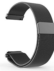 cheap -Watch Band for Pebble Time Pebble Time Steel Pebble Time 2 Pebble Milanese Loop Stainless Steel Wrist Strap