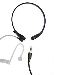 Neckband Anti-Noise Throat Sense Air Conducting Headphone With MIC  for iPhone Samsung