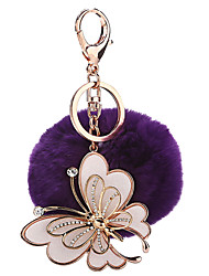 cheap -Balls / Key Chain Key Chain Butterfly Plush / Metal 1 pcs Pieces Girls' Gift