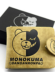 cheap -Bag Wallets Inspired by Dangan Ronpa Monokuma Anime/ Video Games Cosplay Accessories Wallet Leather Men's
