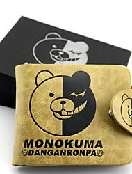 Bolsa / Carteiras Inspirado por Dangan Ronpa Monokuma Anime/Games Acessórios de Cosplay Carteira Amarelo Pele Masculino