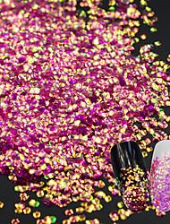 cheap -fish dragon scales sequins laser nail decorations